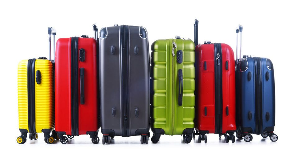 valise en polycarbonate ou en polypropène