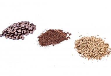 Café soluble, moulu ou en grains